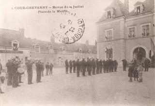 Manoeuvres des Pompiers - Cour-Cheverny