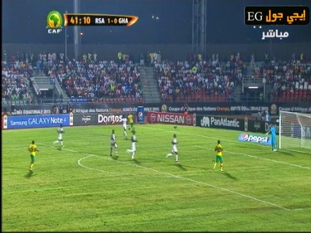 اهداف مباراة جنوب أفريقيا وغانا 1-2  ||بطولة الامم الافريقية || 27-1-2015