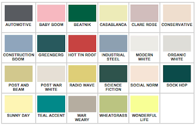 Mad for mid century authentic mid century ranch exterior colors - Mid century modern paint schemes ...