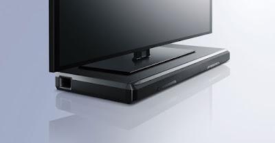 Barra sonido bajo la TV