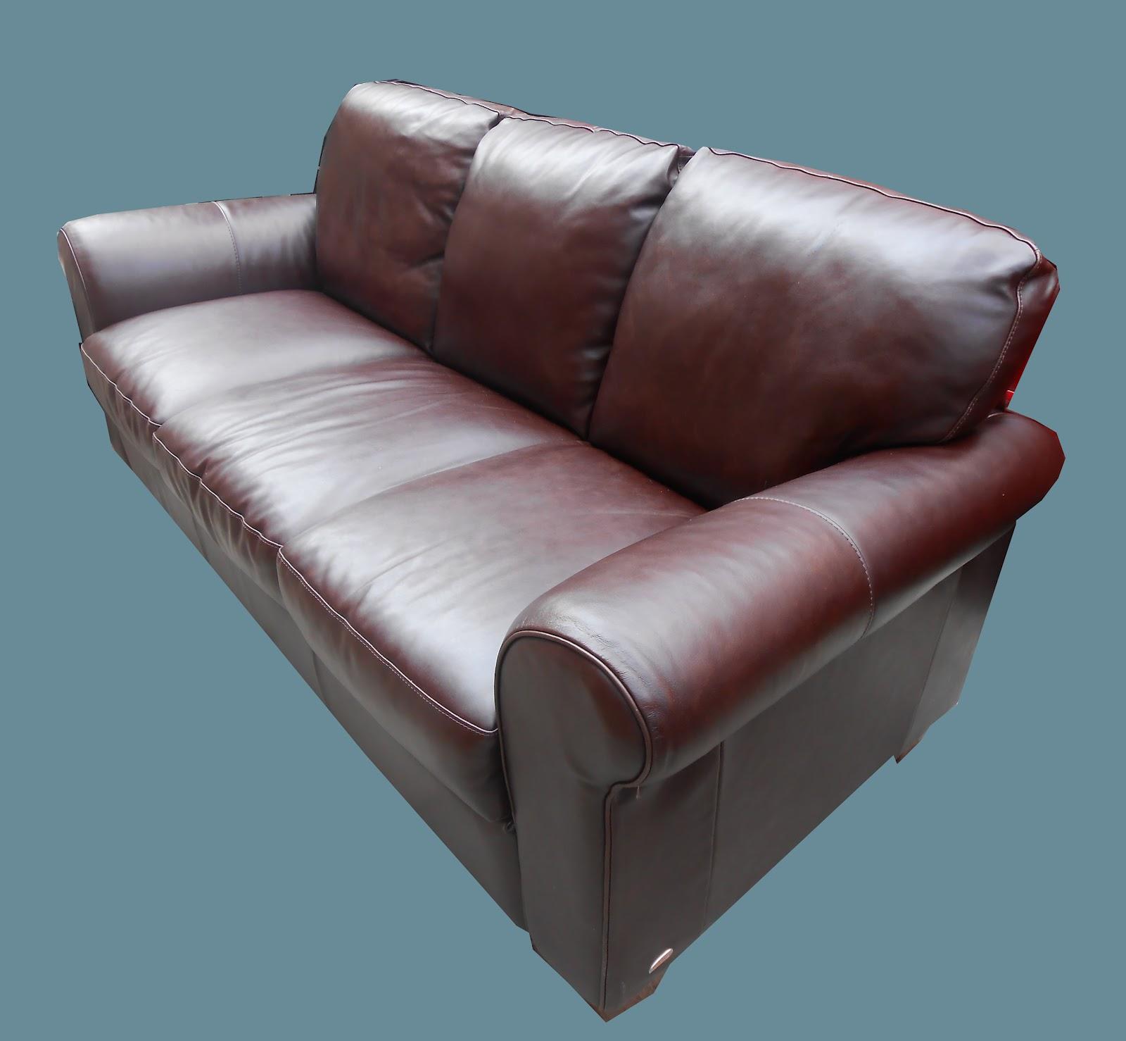 Uhuru Furniture Amp Collectibles Italsofa Leather Sofa Sold