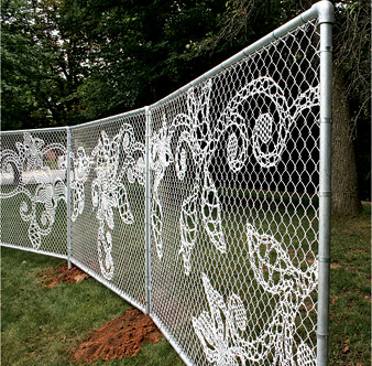 http://ifitshipitshere.blogspot.com/2012/06/turning-chain-link-fencing-into-art.html