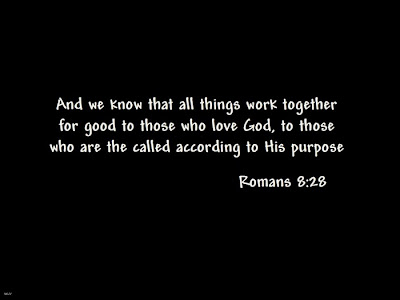 Romans 8:28 Desktop Background