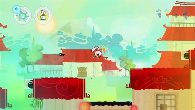 Screenshot of Wii U eShop game Kung Fu Rabbit