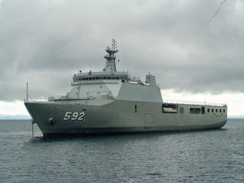 KRI Banjarmasin akan ikuti parade kapal perang Tiongkok