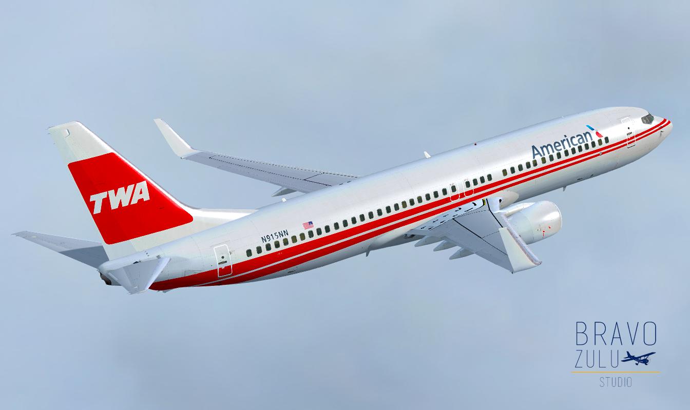 Boeing 737 American Airlines - TWA