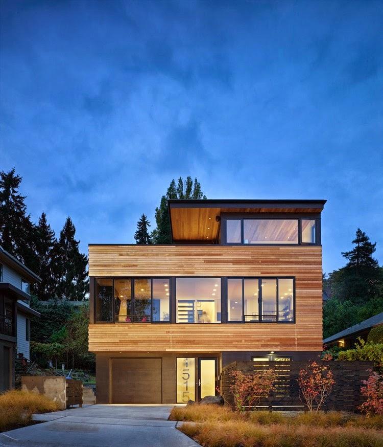 Ada banyak bahan yang bisa kita gunakan untuk membangun rumah dari pada menggunakan bahan semen / beton. Misalnya saja kayu. & Rancangan Desain Rumah Kayu Modern Minimalis yang Hemat Biaya ...