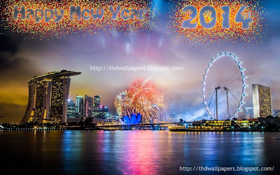 Happy New Year 2014 Fireworks Wallpapers