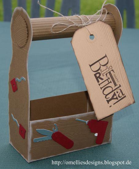 omellie 39 s designs f r einen handwerker eine geschenkverpackung. Black Bedroom Furniture Sets. Home Design Ideas