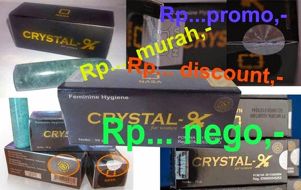 Harga Crystal X Asli Murah