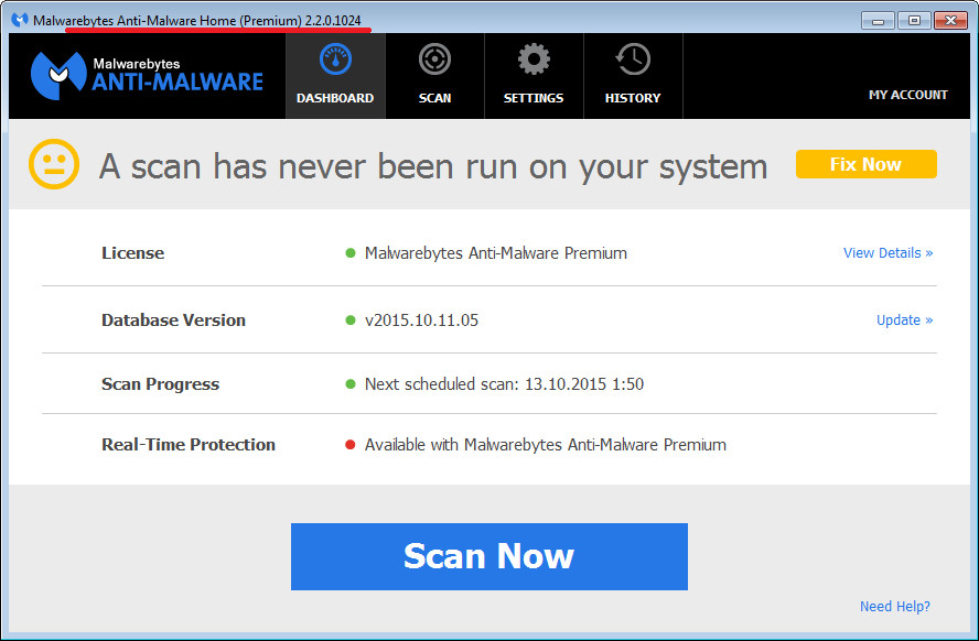 Malwarebytes Anti Malware Premium 2201024 Final Multilingual