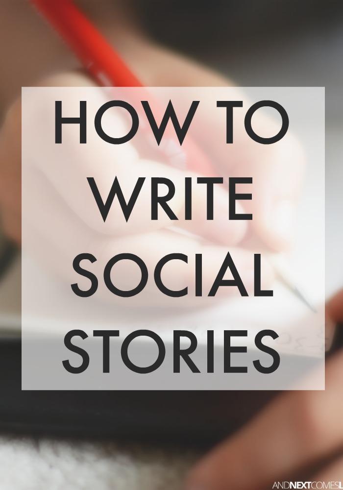 Homework Social Story
