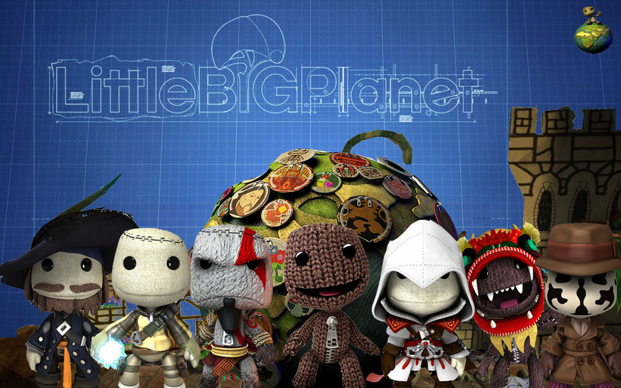 pics arrena little big planet wallpapers 2013