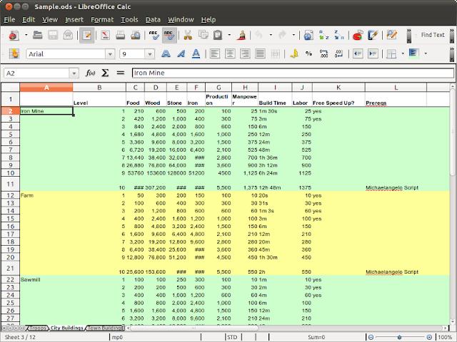 LibreOffice 4.1 – Calc
