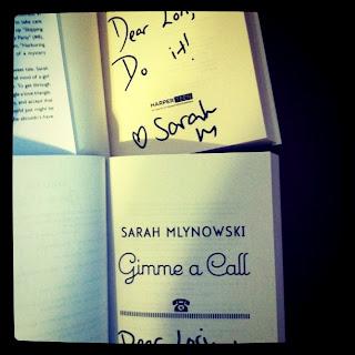 Signed Sarah Mlynowski books