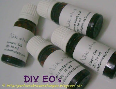 Essential Oils for Hair Growth - Rosemary, Cinnamon, Ginger, Lavender