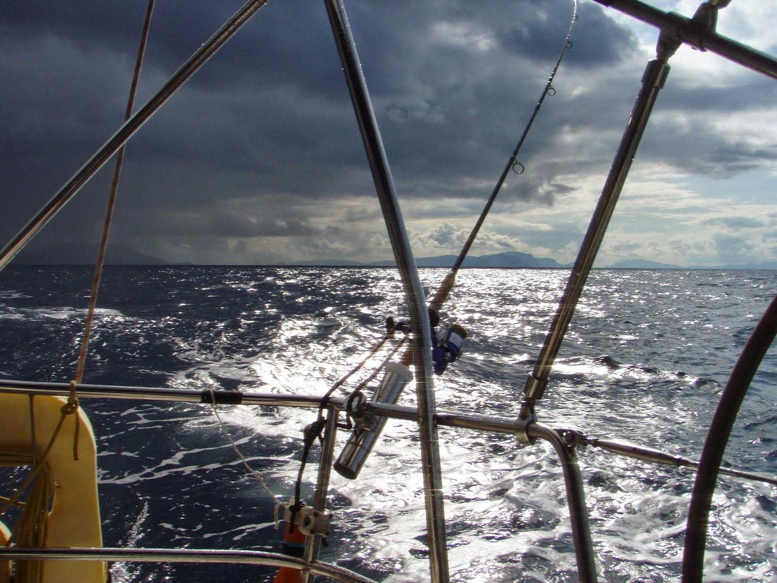 буря в морето