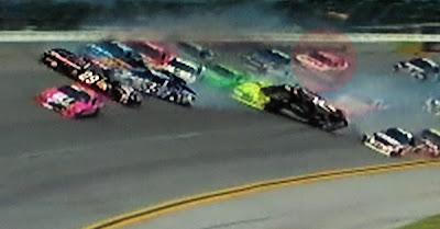 Greg Biffle Talladega wreck