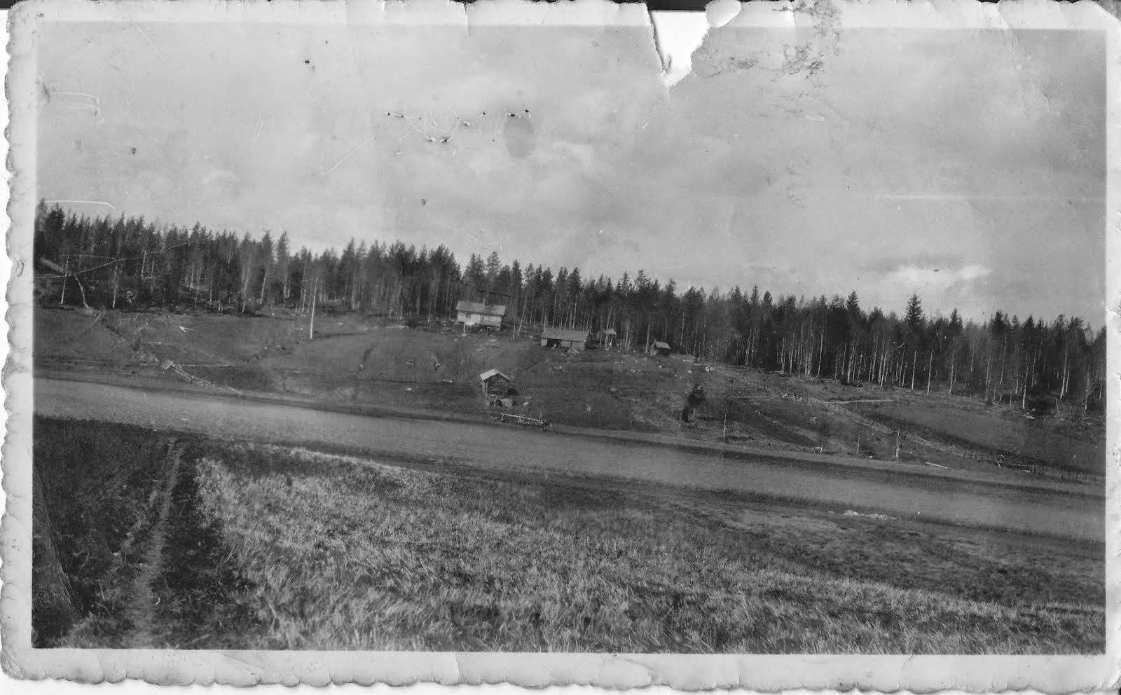 Kuva Pientilalta joko vuodelta 1934, tai 1935