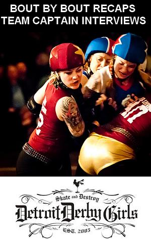 Detroit Derby Girls by Andrew Fleming