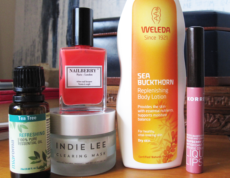 A picture of July Beauty Favourites