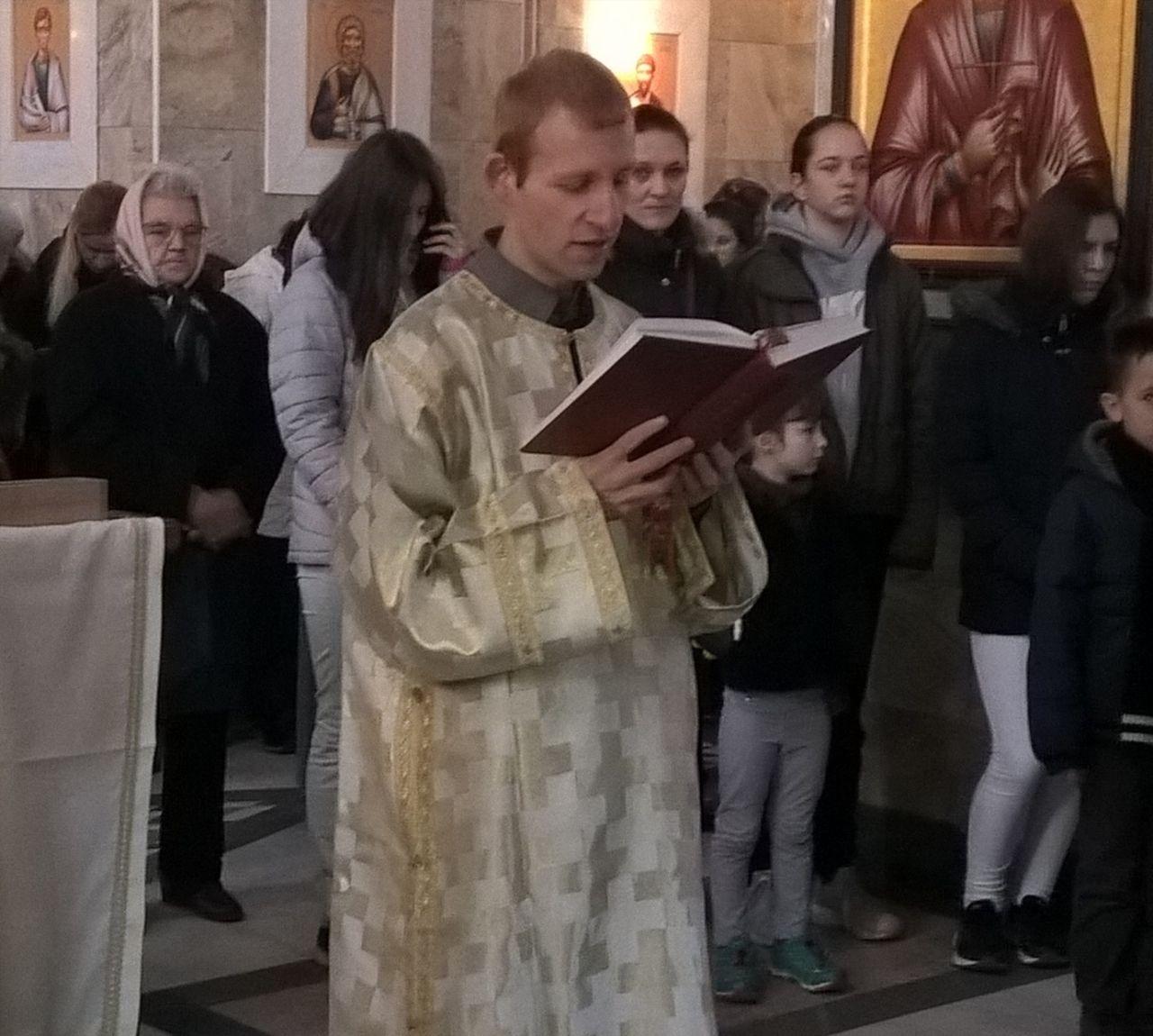 Празник Светог Саве у ветерничком храму, 2018. лета Господњег