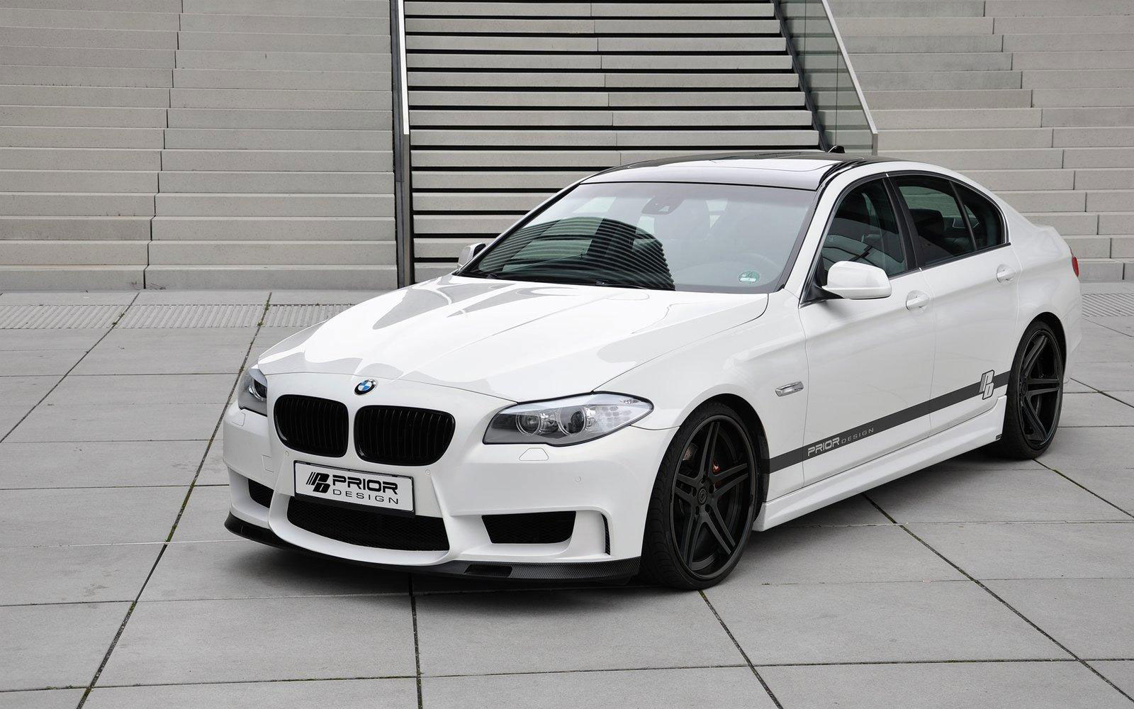 bmw 5 series f10 with prior design body kit sport cars. Black Bedroom Furniture Sets. Home Design Ideas