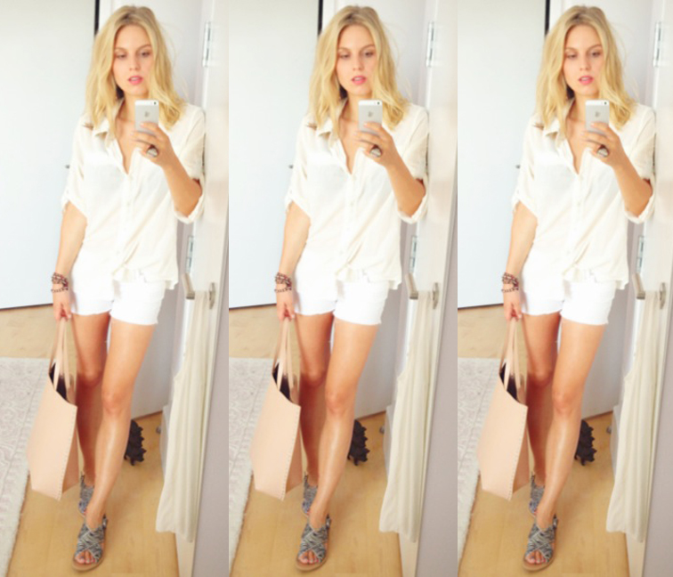 All White Outfit Monochromatic