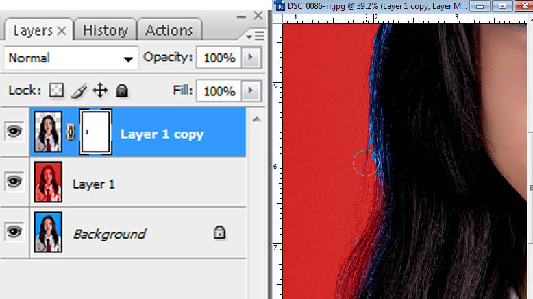 Cara Cepat dan Mudah Mengganti Warna Background Pas Photo aurruz