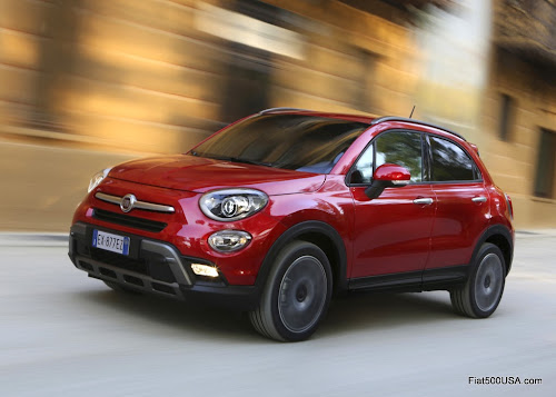 Fiat 500X Cross On Road