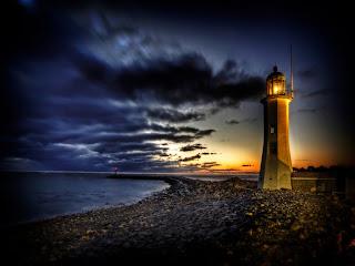 Light in the sunrise