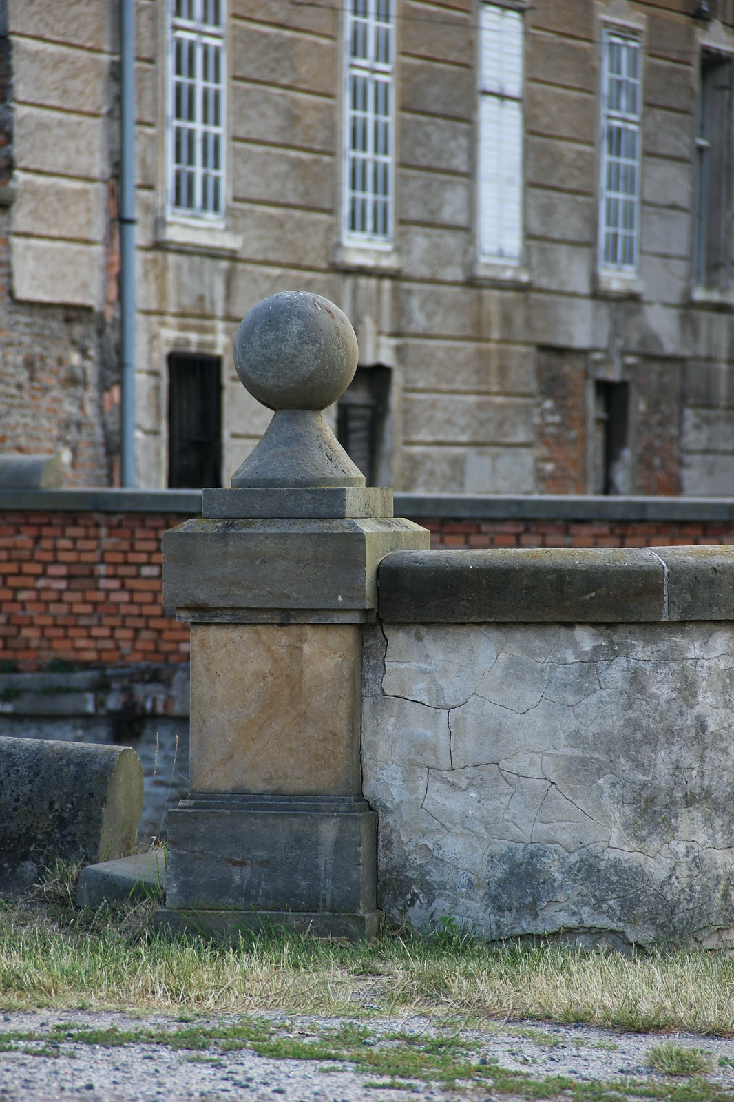 Nádvoří Holíčského zámku/The Patio of Holíč Castle(SK)
