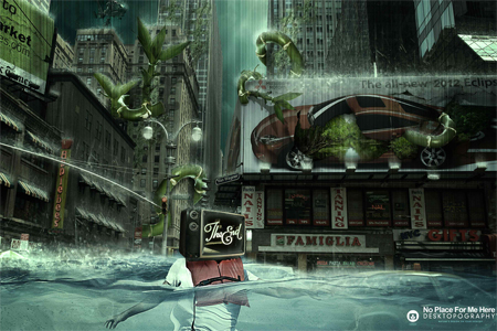 Nature Photo Manipulation: No Place