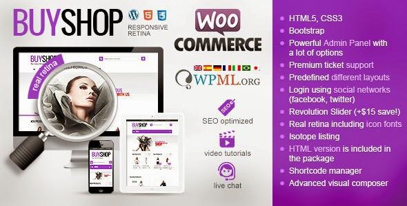 wp eCommerce theme