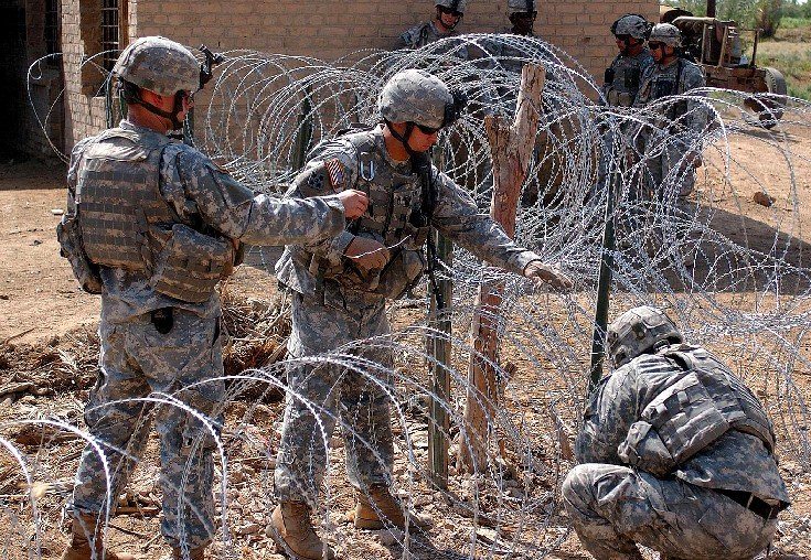 Source For Concertina Wire? - Page 1 - AR15.COM