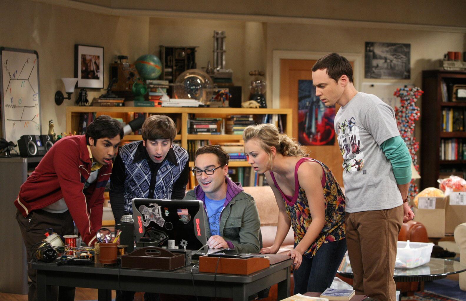 tv and movies the big bang theory stills and clips
