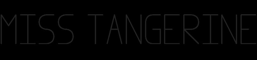 Miss Tangerine