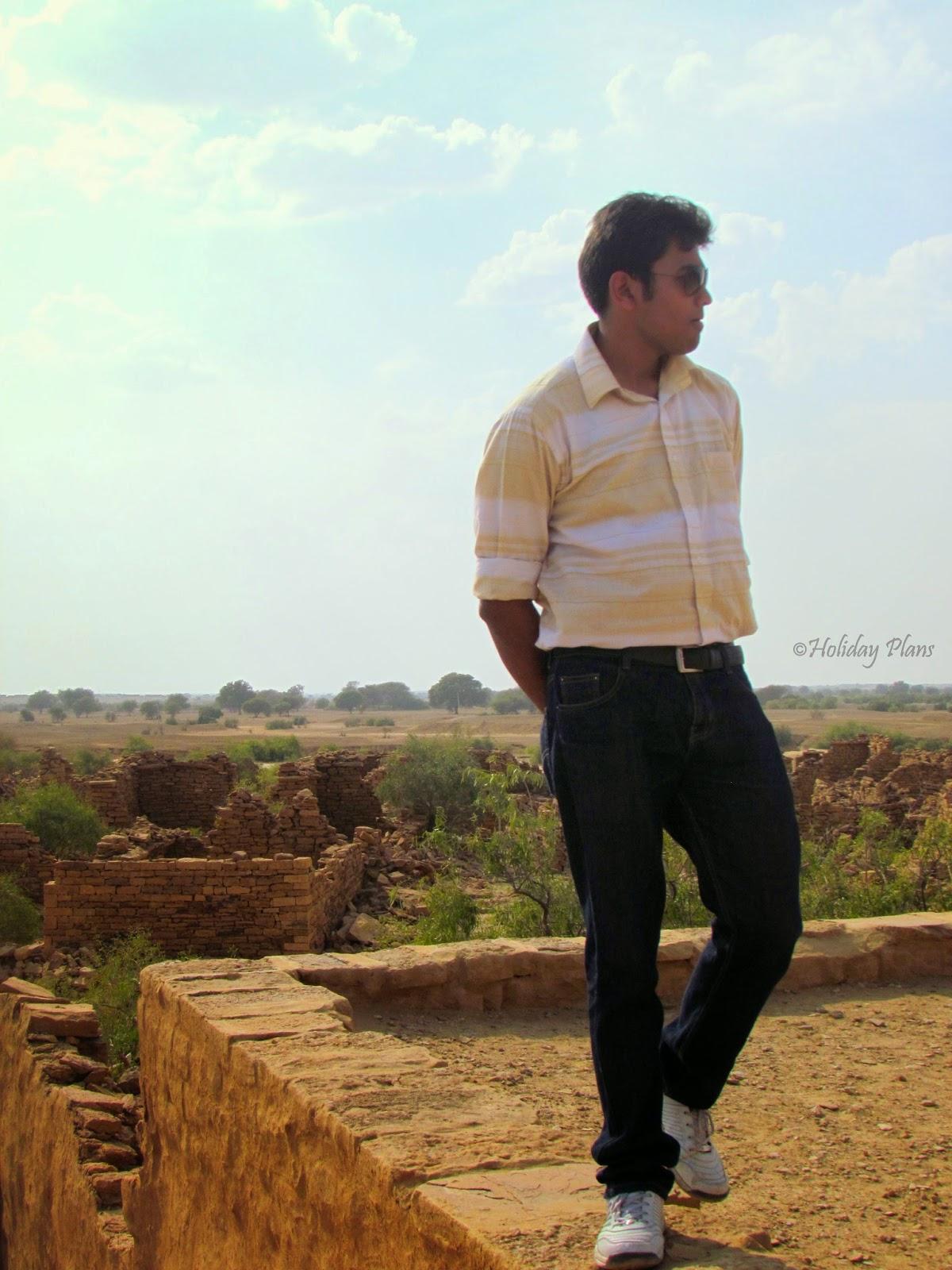 Kuldhara-Divyam looking for a Ghost :P