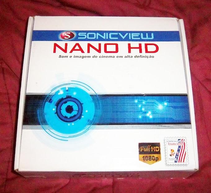 Nova Atualização Sonicview Nano HD v.117 de 09/09/12