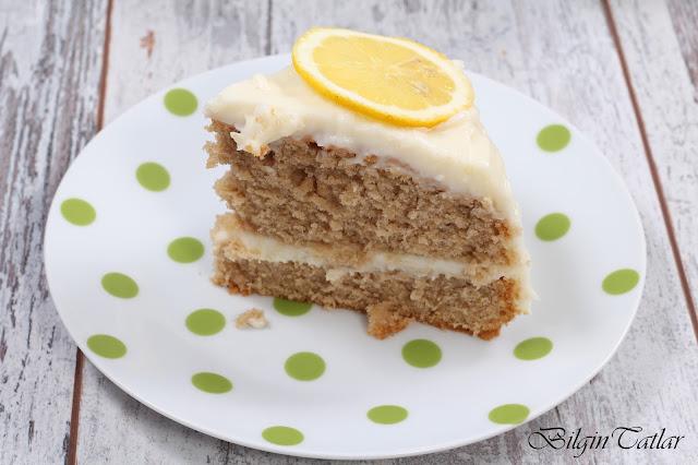 kremalı çaylı kek