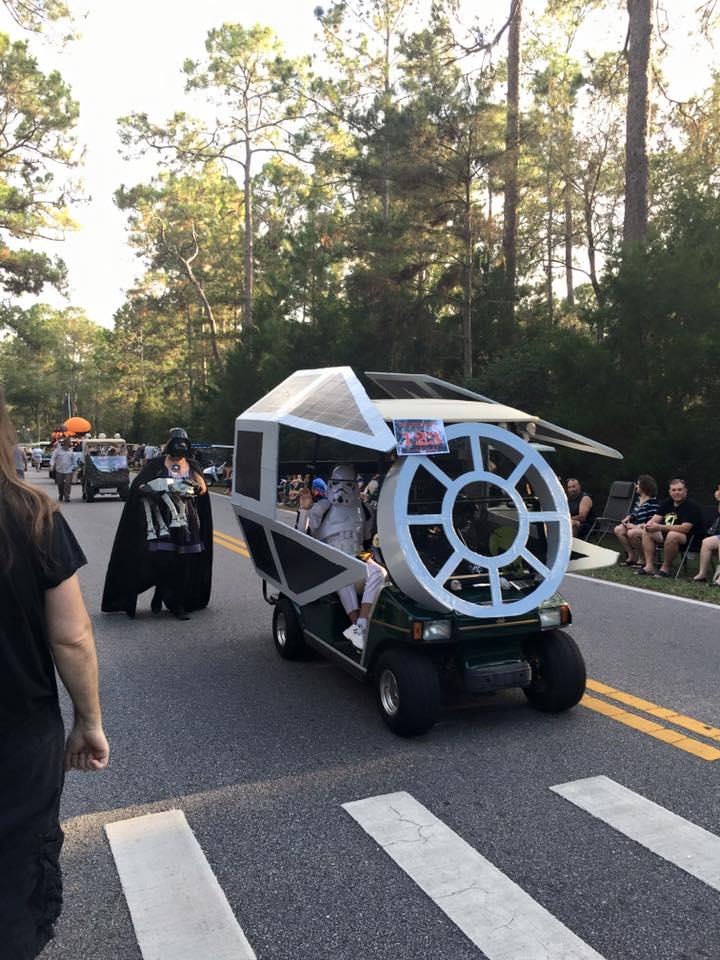 star wars golf cart