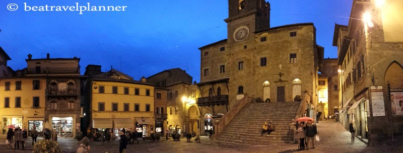 Cortona by nigth