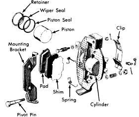 Engine Piston Damage Wear on 1973 Datsun 510