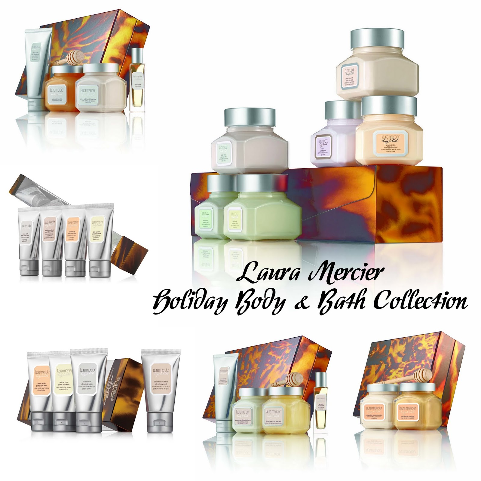 Laura Mercier Holiday Body & Bath Collection