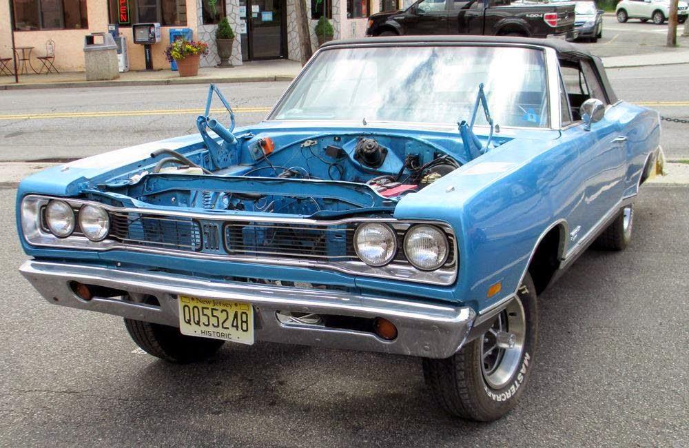 1969 Coronet 500 Convertible Netcong Auto Restorations, LLC. 973-527-3464