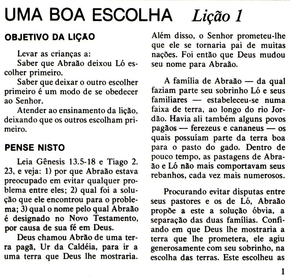 Super Escola Dominical Infantil: Abraão e Ló se separam: História, plano  IL52