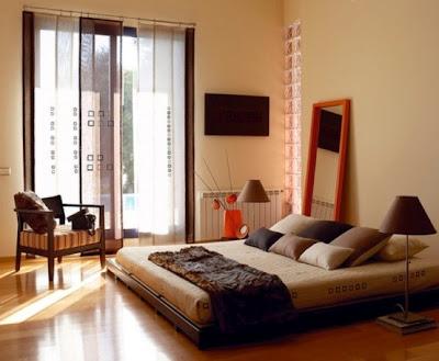 foto dormitorio zen