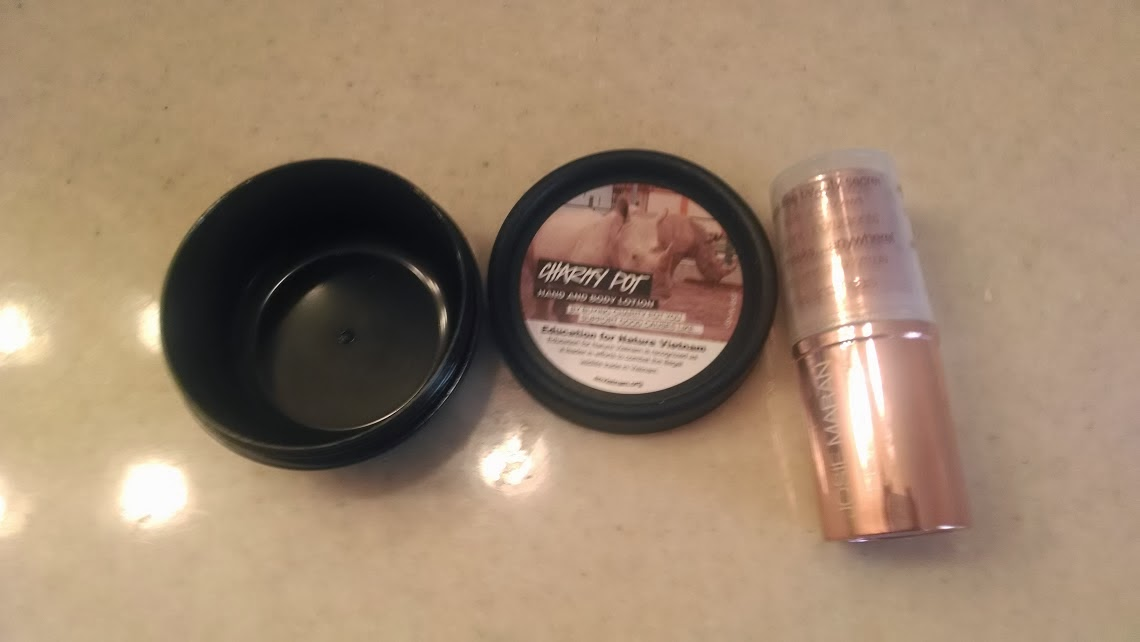 Josie Maran Color Stick in Rose and Lush pot..the possibilities!!