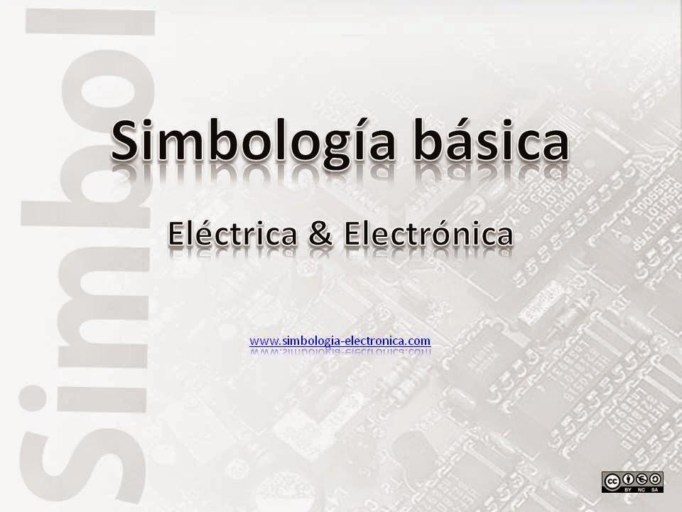 Simbología básica eléctrica y electrónica