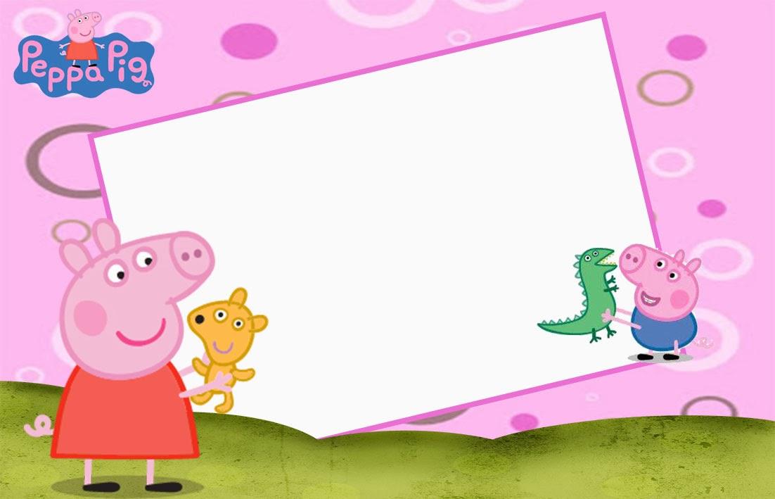"""Convites Aniversário Prontos """"Peppa Pig"""" para Imprimir - CALLY'S ..."""